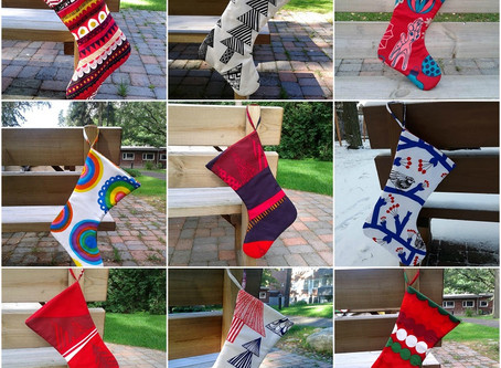 Scandinavian Christmas stocking