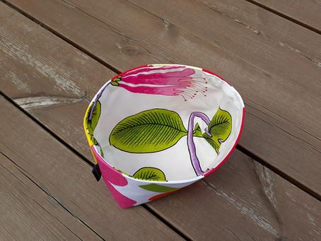 A quick fabric basket tutorial