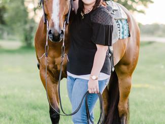 Amanda & Rusty - Orangeville Equine Session