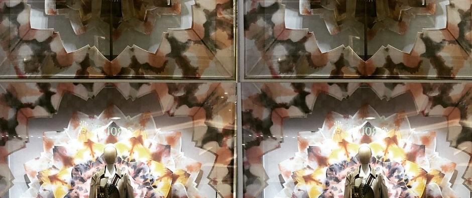 Dior kaliDIORscopic Window. CDMX