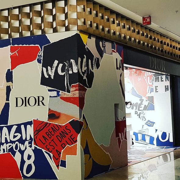 Dior Polanco. El Palacio de Hierro Moliere
