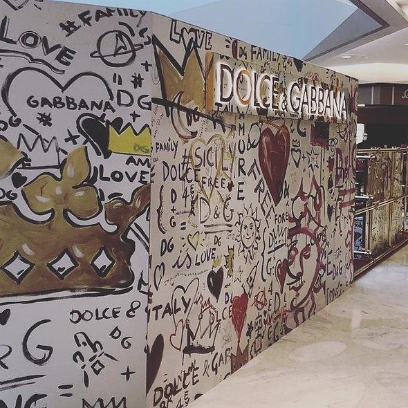 Dolce & Gabbana PopUp El Palacio de Hierro Querétaro Antea