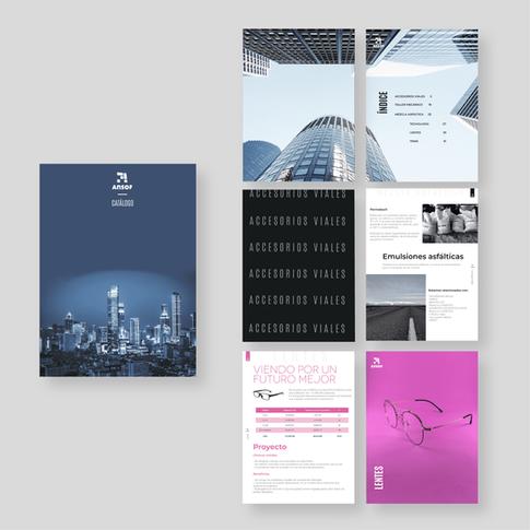 Diseño editorial Ansof