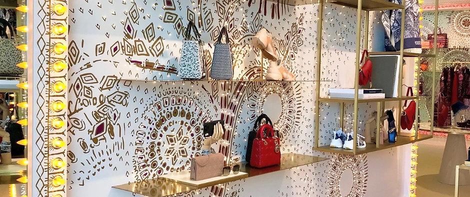 Dior Plaza La Isla Cancún Furniture Construction