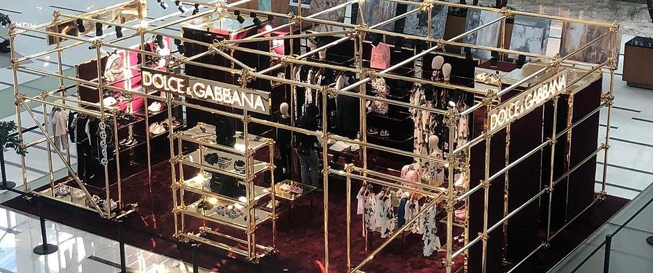 Dolce & Gabbana PopUp Vía Santa Fe