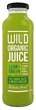 Organic Juice 360ml - Lean & Green