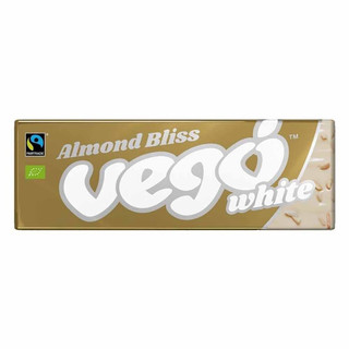 Dairy Free White Chocolate with Almond pieces