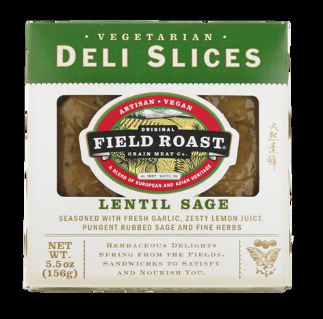 Deli Slices - Lentil Sage 156g
