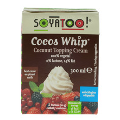 Soyatoo Coconut Whip Topping Cream