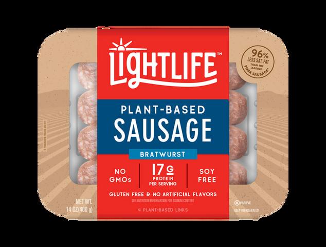 Lightlife Sausage Bratwurst
