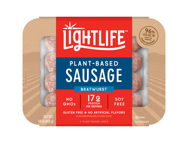 Lightlife Sausage Bratwurst