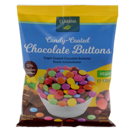 Candy Coated Chocolate Buttons 125g