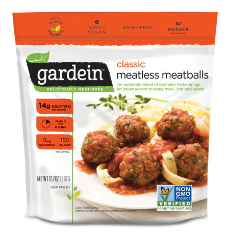 Classic Meatless Meatballs