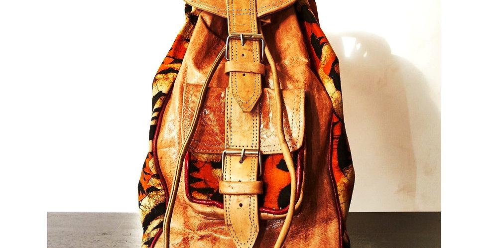 Artisanal Orange Bag