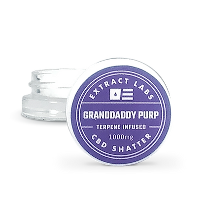 GRANDADDY PURP (CBD SHATTER)