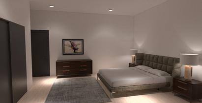 Finished Rendered Room.