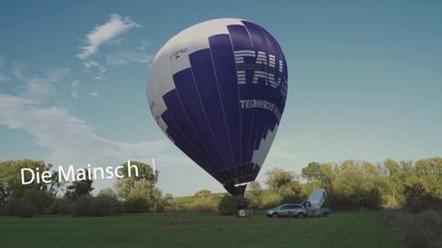 Heißluftballon   Volkacher Mainschleife   von oben   entdecken   Mainschleife TV