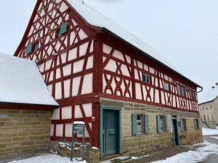 Winterspaziergang im Kirchenburgmuseum Mönchsondheim