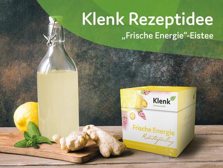 Ingwer-Zitronen-Eistee