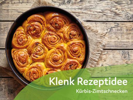 Kürbis-Zimtschnecken