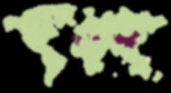 #6524#KLE2019 Herkunftslaender Weltkarte