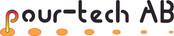 Logo pour-tech Außenbeschilderung Geb.10