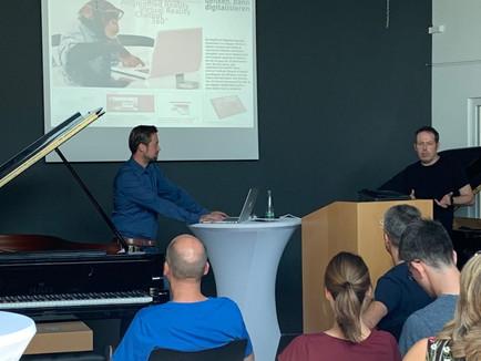 Marketingvortrag bei Seiler – Flügel und Pianos