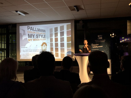 atelier zudem mit der PALLMANN COLOR COLLECTION beim Marketingpreis Mainfranken 2018