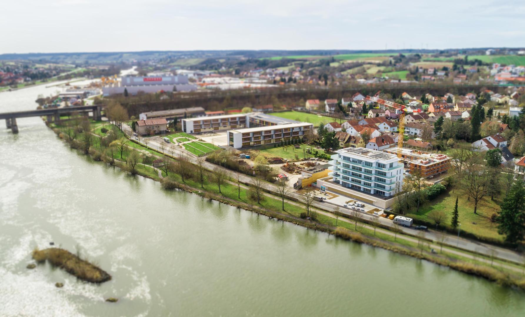 Maingold-Projekt direkt am Main in Kitzingen