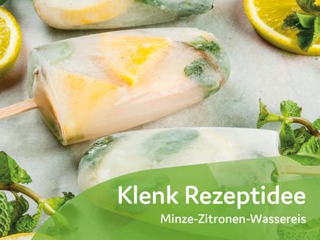 Minze-Zitronen-Wassereis