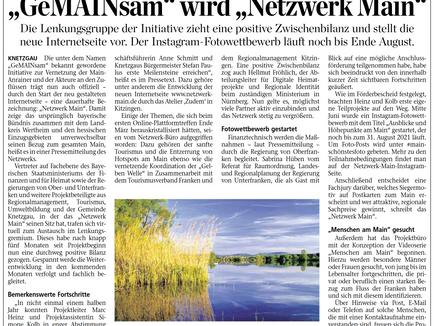 """""""GeMAINsam"""" wird zu """"Netzwerk Main"""" – neues Corporate Design geht online."""