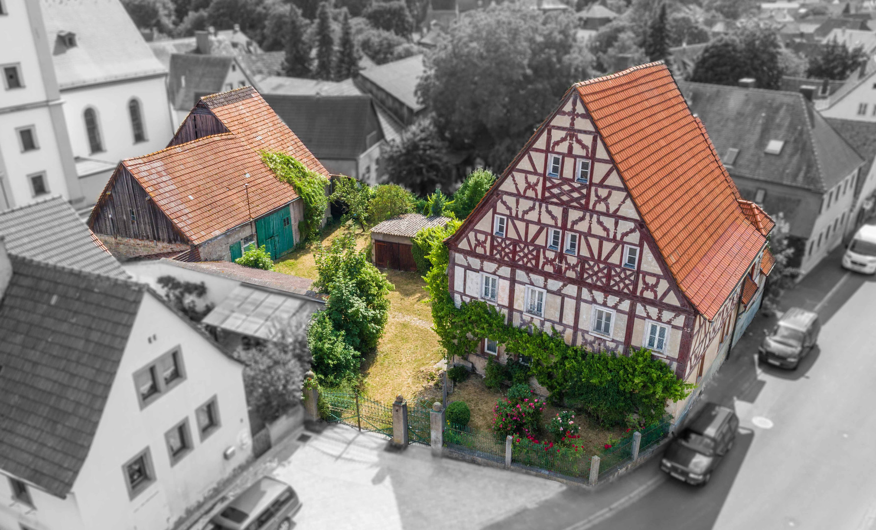 Altes Amtsgericht in Rüdenhausen