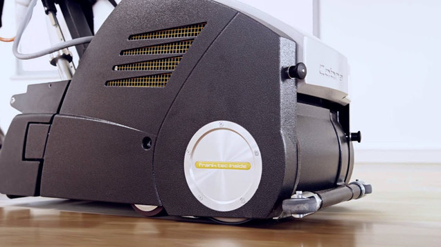 PALLMANN COBRA   Parkettschleifmaschine   Maschinenfilm   Technik