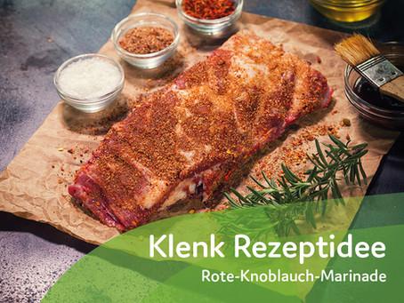 Rote-Knoblauch-Marinade