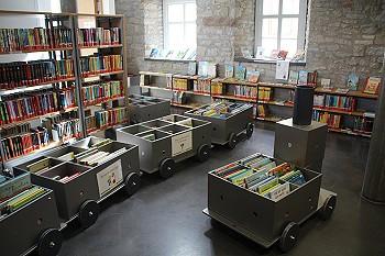 Ab sofort: Bücher-Lieferservice