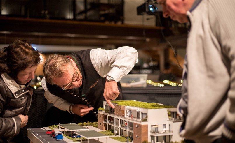 Kick-Off-Event des Neubauprojektes in Uffenheim