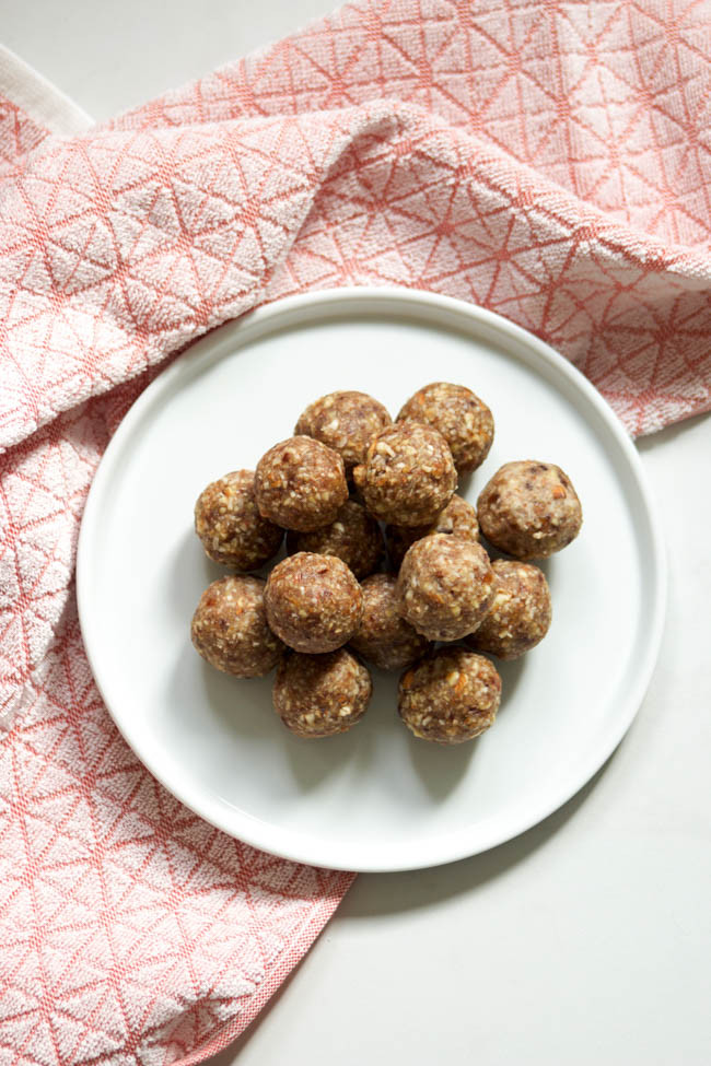 Chai Spice Energy Bites