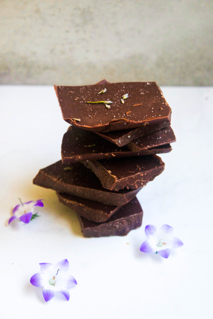 Lavender Sea Salt Chocolate