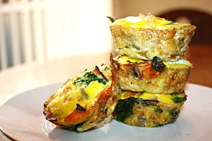Veggie & Ham Egg Muffins