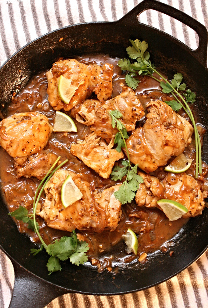 Coconut Lime Sriracha Chicken