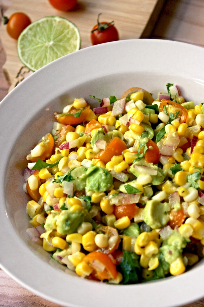 Corn and Tomato Summer Salsa - Farmers Market Finds Pt. 2