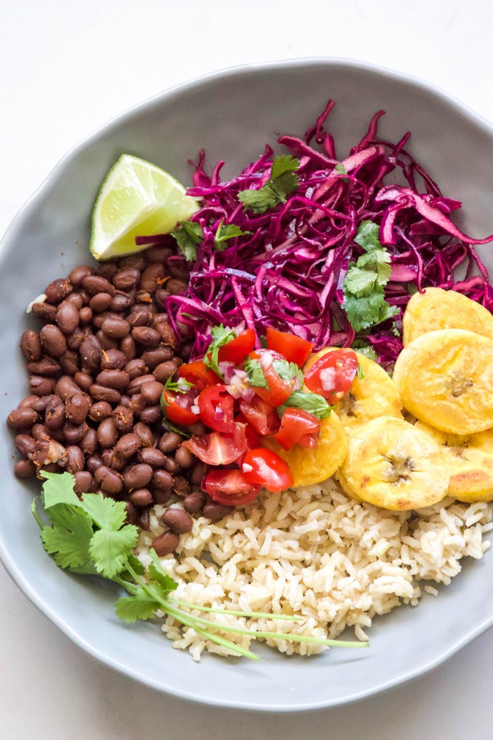 Vegetarian Plantain Bowl