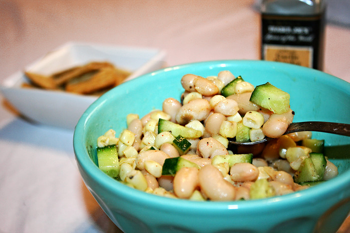 Sweet Corn and Bean Salad