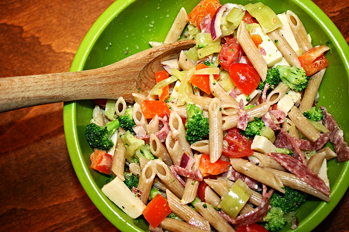 Healthy Pasta Salad in the Valley of Death