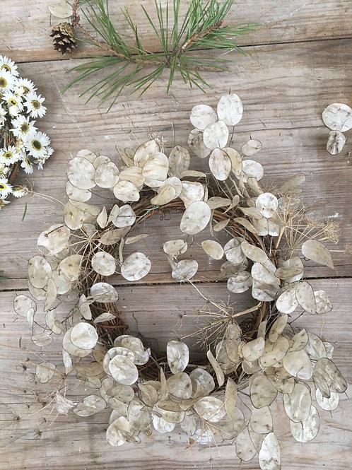 Honesty & Seedhead Wreath