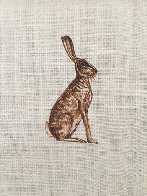 Fabric Remnant - Mr Hare