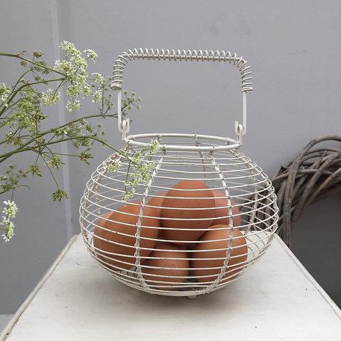 Vintage Style Egg Basket