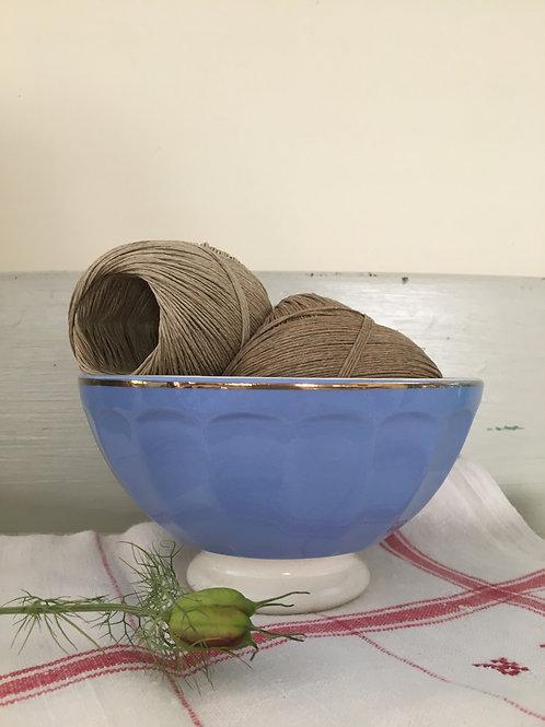 Vintage French Blue Café au Lait Bowl