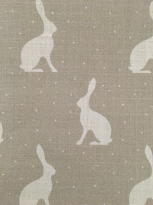 Fabric Remnant in Mini Hares