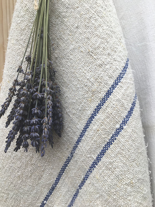 Vintage Blue Stripe Grainsack